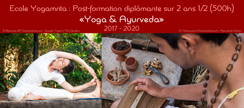 Post-formation « Yoga & Ayurveda » (500h)