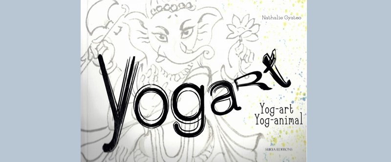 Yog'art Yog'animal, un livre illustré de Nathalie Gyatso