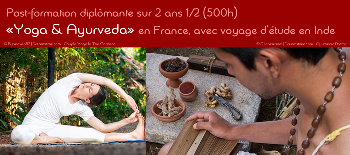 Ecole de yoga Yogamrita - post-formation Yoga & Ayurveda