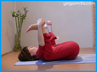 Anandasana - Happy baby pose