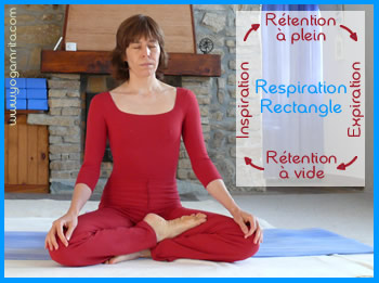 Pranayama: la respiration rectangle